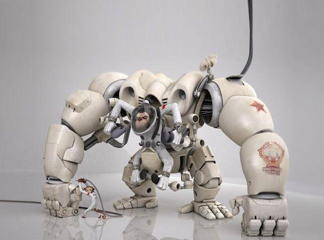 8 roboti