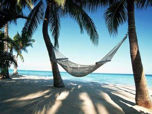Caribbean Vacation Beach Hammock