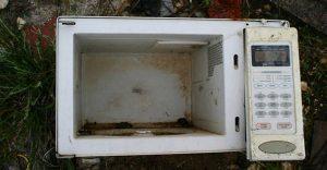 Scurgerile de la cuptorul cu microunde