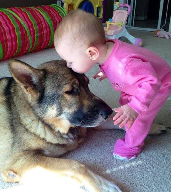 IMAGINI EMOTIONANTE care demonstreaza cat de mult au nevoie copii de ANIMALE DE COMPANIE!20