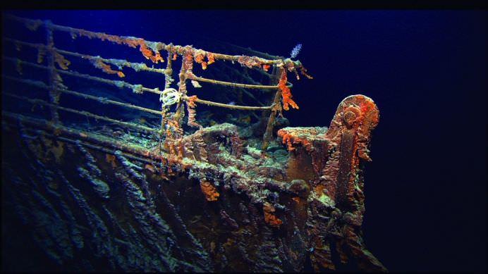 IMAGINI RARE cu epava TITANICULUI la peste 100 de ani de la TRAGEDIE!10
