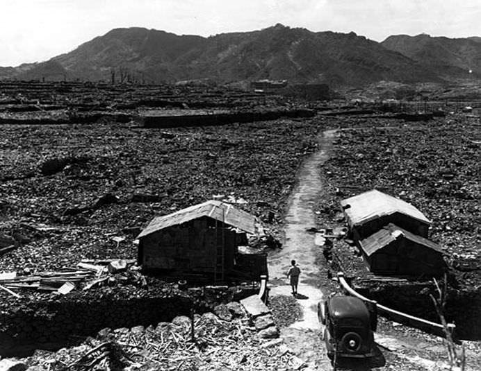 Galerie cutremuratoare Cum arata Nagasaki dupa bomba atomica!10