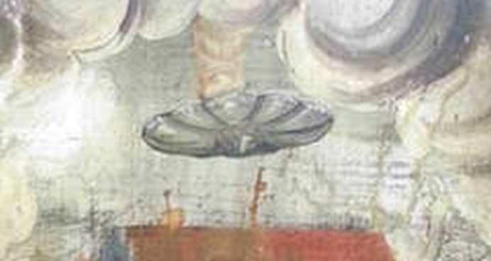 OZN pictat pe o BISERICA din Romania! Ce MESAJ crezi ca ascunde despre DUMNEZEU2