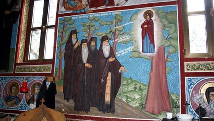 Singurul loc din Romania unde FECIOARA MARIA s-a aratat in chip minunat unor CALUGARI!2