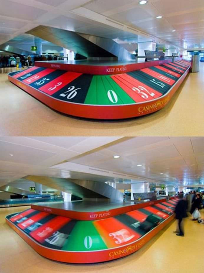 TOP 10 RECLAME DESTEPTE DIN AEROPORT CARE TE VOR SURPRINDE!10