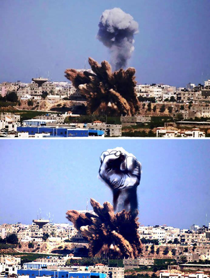 IMAGINI PUTERNICE care arata adevarata fata a conflictului israeliano-palestinian!11