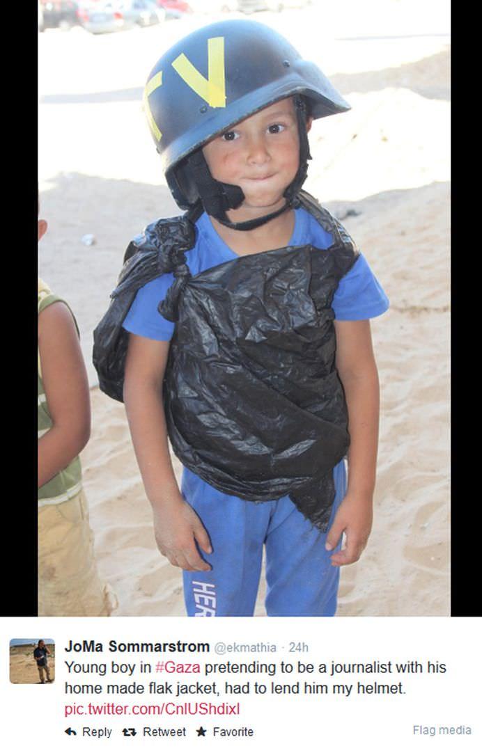 FOTOGRAFIA EMOTIONANTA a conflictului din Fasia Gaza Eu sunt jurnalist2