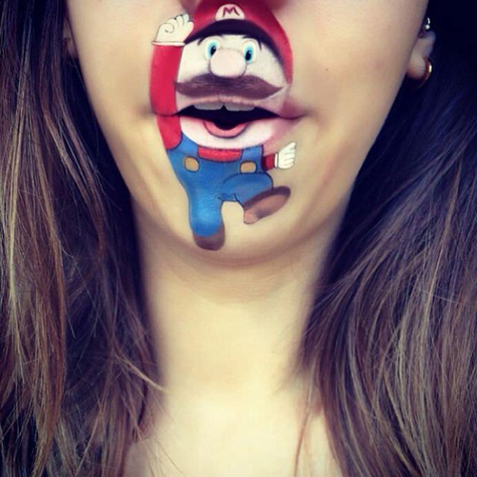 IMAGINI cu operele de arta de pe buzele unei tinere talentate de MACHIAJ PROFESIONIST!27