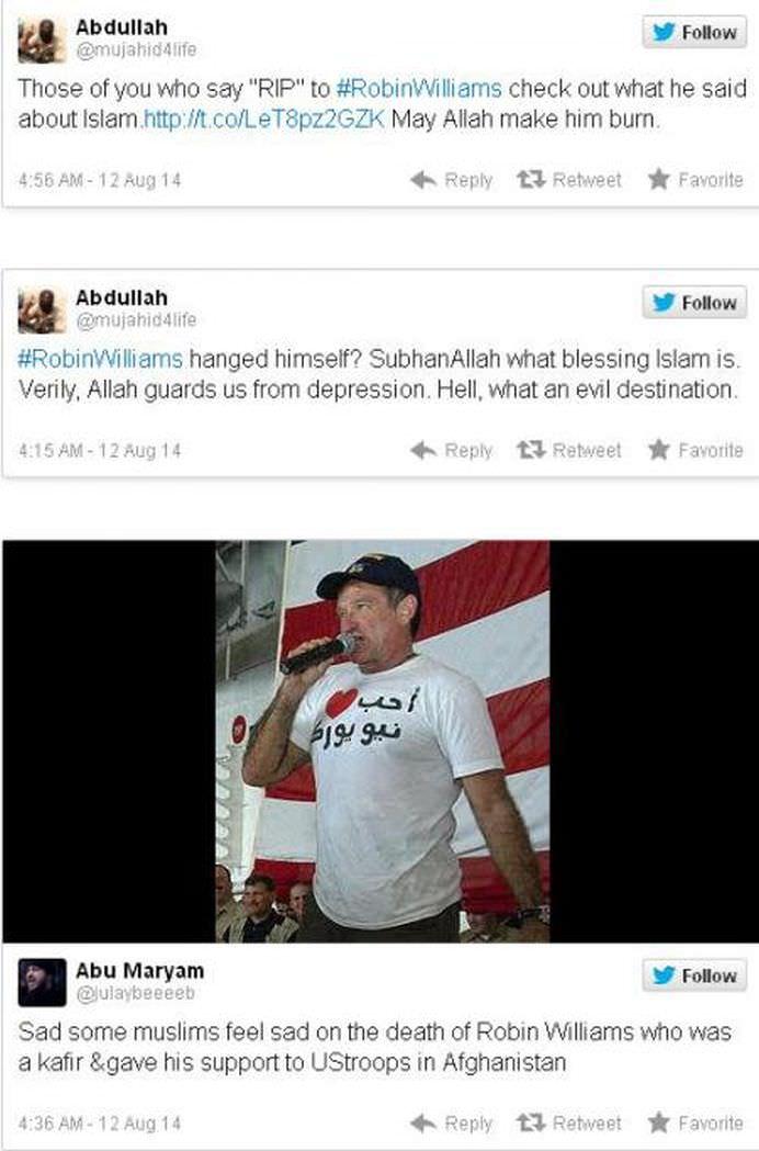 Robin Williams nu a fost iertat de JIHADISTI nici dupa moartea sa! Ce spunea actorul despre Jihad! VIDEO1