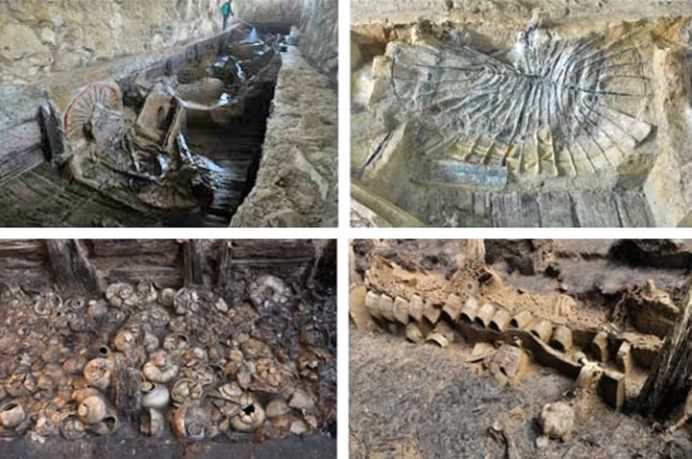 Un MAUSOLEU VECHI de 2.100 de ani a fost descoperit in China! Peste 10.000 de ARTEFACTE PRETIOASE au fost gasite in interior!2