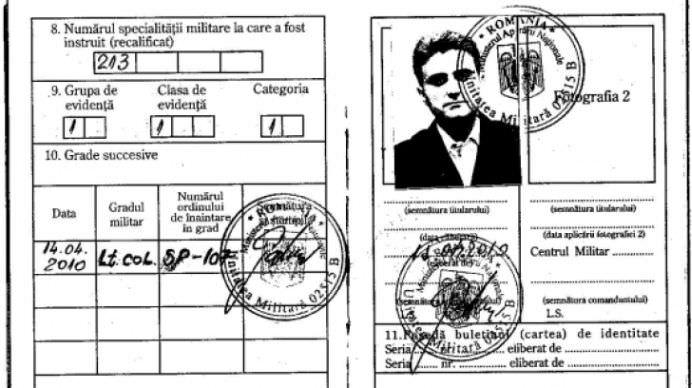 "MARTURISIRE BOMBA a lui ROBERT TURCESCU Am fost LOCOTENENT-COLONEL SUB ACOPERIRE""!1"