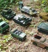 RUSIA ia in ras NATO cu TANCURI DE JUCARIE!1