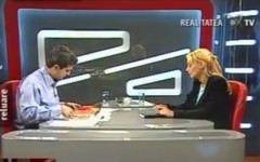 Robert Turcescu, amorezat 100% de Daciana Sarbu