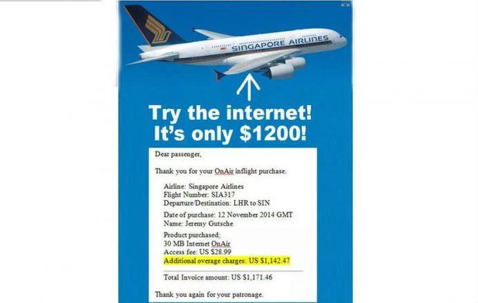 Calatoresti cu avionul si folosesti internetul companiei aeriene Vezi ce patesti!2