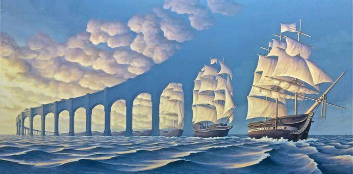 ILUZIA OPTICA combinata cu REALISMUL MAGIC! Imagini incredibile care iti distorsioneaza PERCEPTIA!25